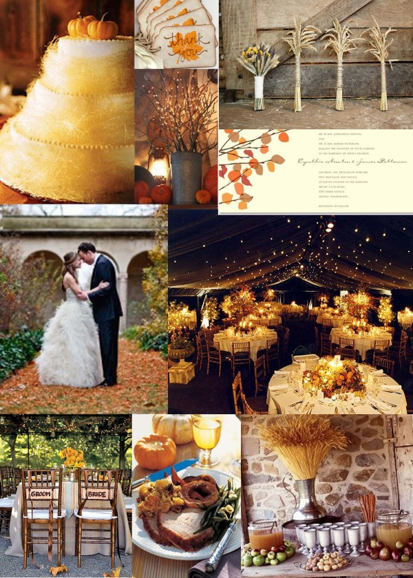 Thanksgiving Wedding Board